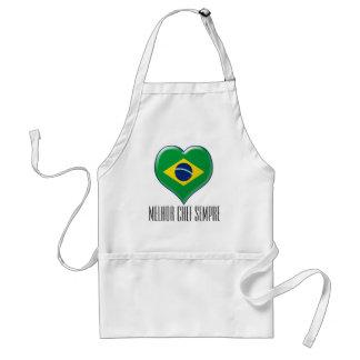 BRASIL CORAÇÃO Charme Standard Apron