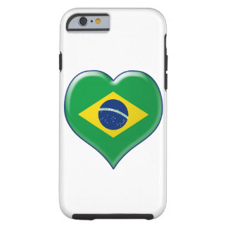 BRASIL CORAÇÃO Charme Tough iPhone 6 Case