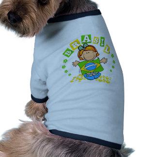 Brasil Doggie Tee Shirt