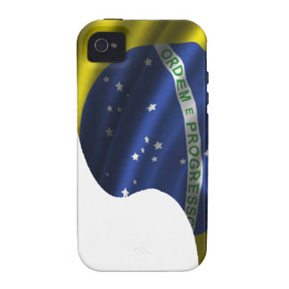BRASIL  FLAG FOOT PRODUCTS iPhone 4/4S COVER