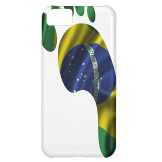 BRASIL FLAG FOOT PRODUCTS iPhone 5C CASE