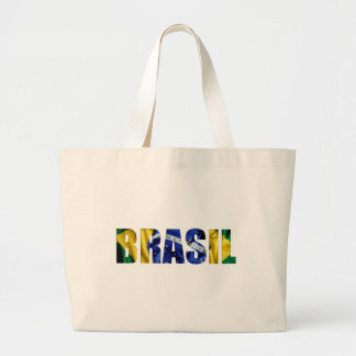 Brasil Flag Jumbo Tote Bag