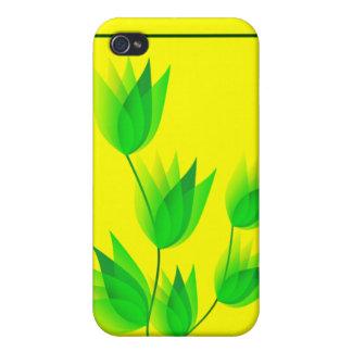"""""""BRASIL"""" Floral Design iPhone 4 Case"""
