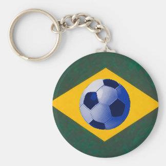 BRASIL FOOTBALL LOVERS KEY CHAIN