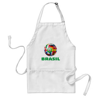 Brasil Futebol Apron