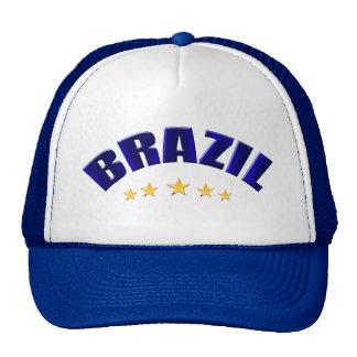 Brasil Futebol Fans truckers hats