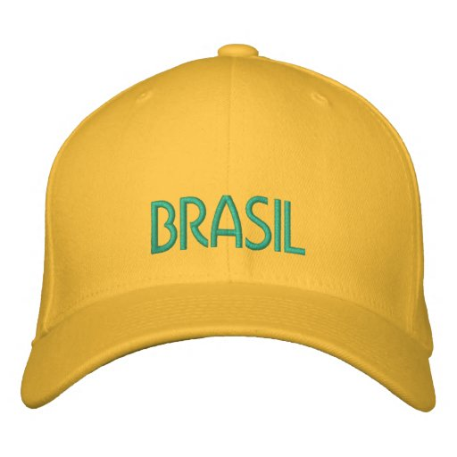 BRASIL Hat Embroidered Hat