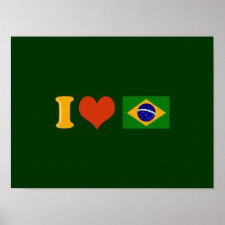 Brasil pop art poster
