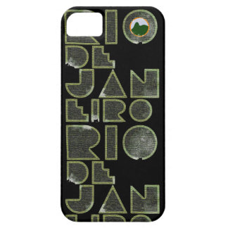 Brasil Rio de Janeiro typography Case For The iPhone 5