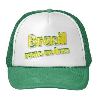"""Brasil rumo ao hexa"" Cap"