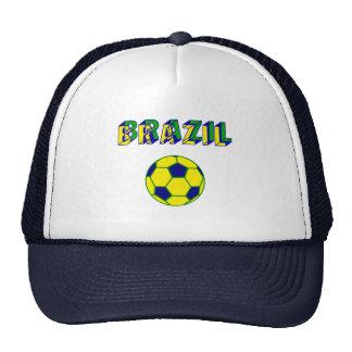 Brasil Soccer ball futebol Brasileiro gifts Cap