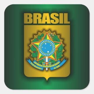 """""""Brasil Steel"""" Stickers"""