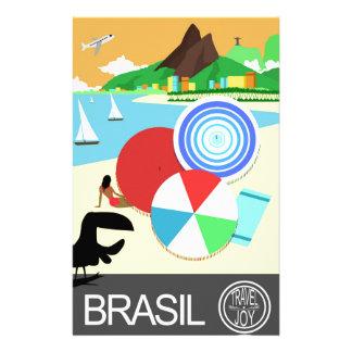 Brasil vintage retro Design Stationery Design