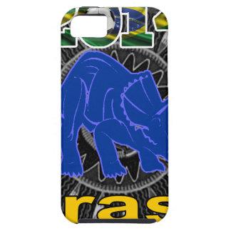 BRASIL WORLDCUP DINOSAURIO CUSTOMIZABLE iPhone 5 CASES