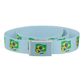 Brasileiro Futebol e Bandeira Belt