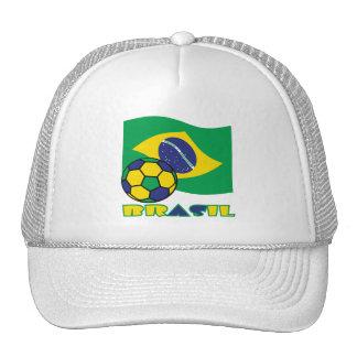 Brasileiro Futebol e Bandeira Cap