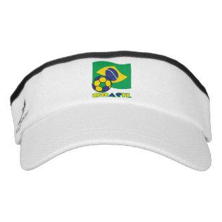 Brasileiro Futebol e Bandeira Visor