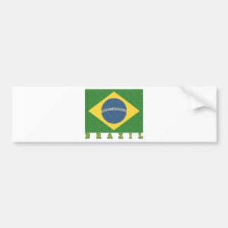 Brasilian soccer 2010 bumper stickers
