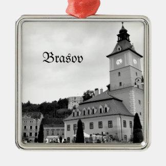 Brasov in Transylvania, Romania Christmas Ornament