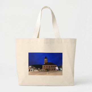 Brasov in Transylvania, Romania Large Tote Bag