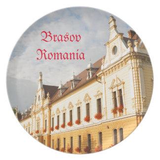 Brasov, Romania Plate