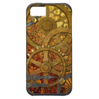 Brass and Bronze Steampunk iPhone 5 Tough iPhone 5 Case