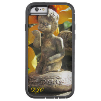Brass Angel Statuette Blows A Kiss Tough Xtreme iPhone 6 Case