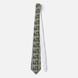 Brass Band Cravat Tie