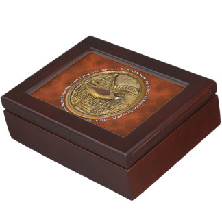 Brass Button low flying duck Memory Box