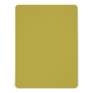 Brass Classic Colored Personalized Invite