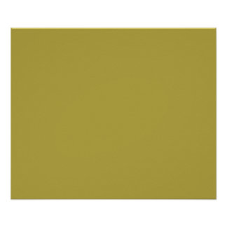 Brass Classic Colored Print