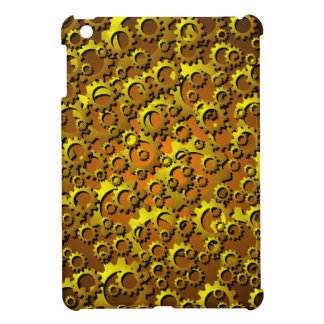 Brass Cogs and Gears iPad Mini Case