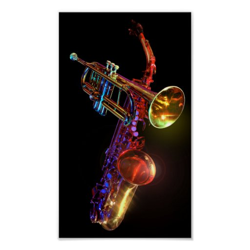 Brass Instruments Poster