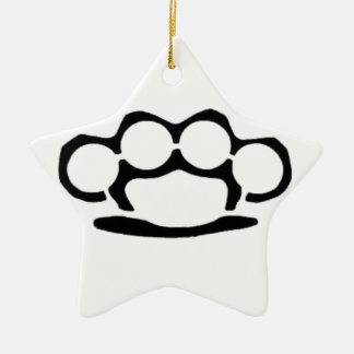 Brass Knuckles Christmas Ornaments