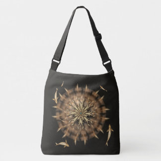 Brass Koi Metal Mandala Bag