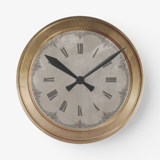Brass Wall Clocks Zazzle Co Uk