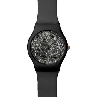 Brass Silver Watch