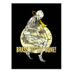 Brass To The Bone Postcard