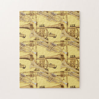 Brass Trumpet Pattern Puzzle
