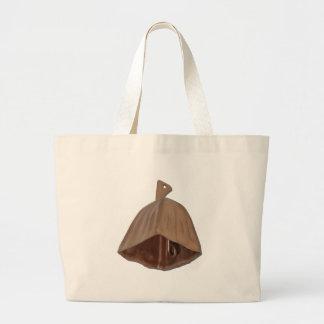 BrassCowBell112010 Large Tote Bag