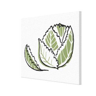 Brassica Oleracea Gallery Wrap Canvas