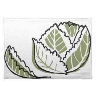 Brassica Oleracea Place Mat
