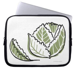 Brassica Oleracea Laptop Computer Sleeves