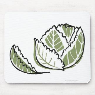 Brassica Oleracea Mouse Pad