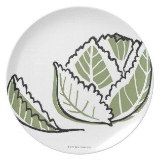 Brassica Oleracea Plate