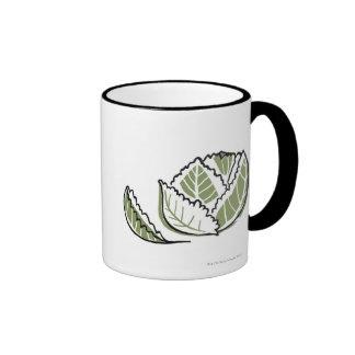 Brassica Oleracea Ringer Mug