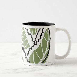 Brassica Oleracea Two-Tone Coffee Mug
