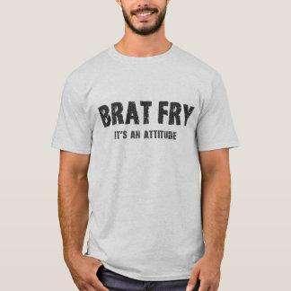 Brat Fry tshirt: BRAT FRY - it's an attitude T-Shirt