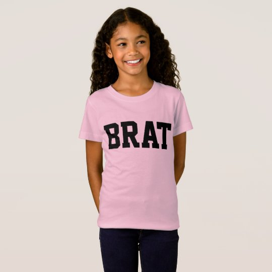 BRAT funny Girls Kids T-shirts