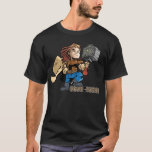 Brat-halla Thor with Mjollnir T-Shirt